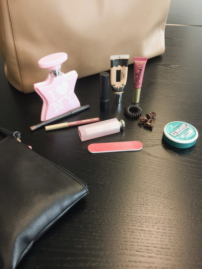 Work bag beauty essentials