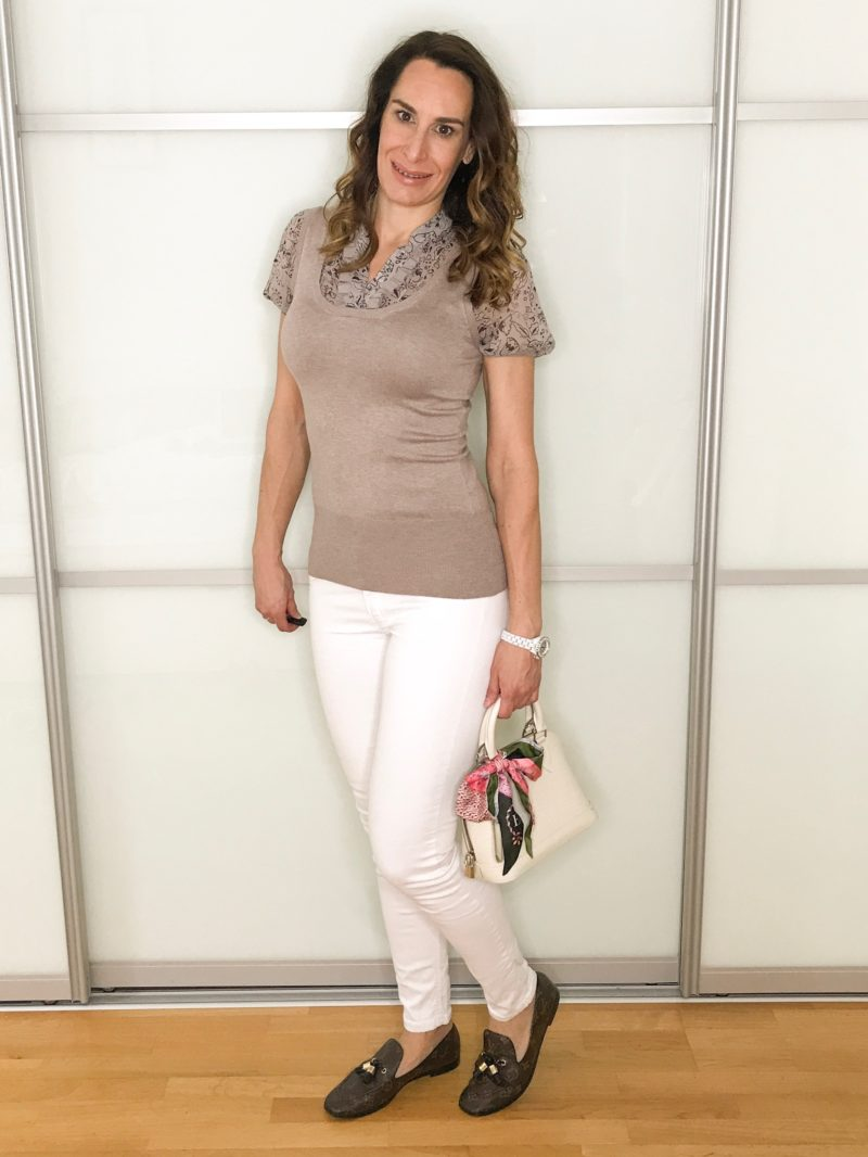 Summer business looks: casual: white trouser and top