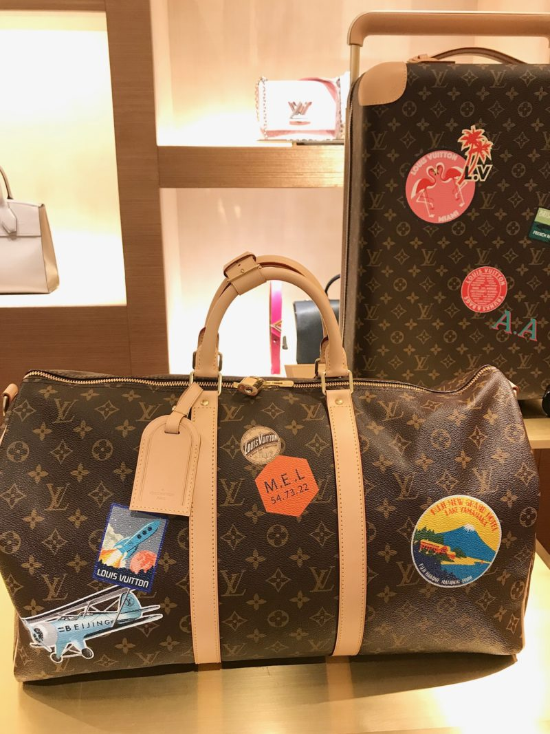 Keepall bandouliere 50 my lv world tour