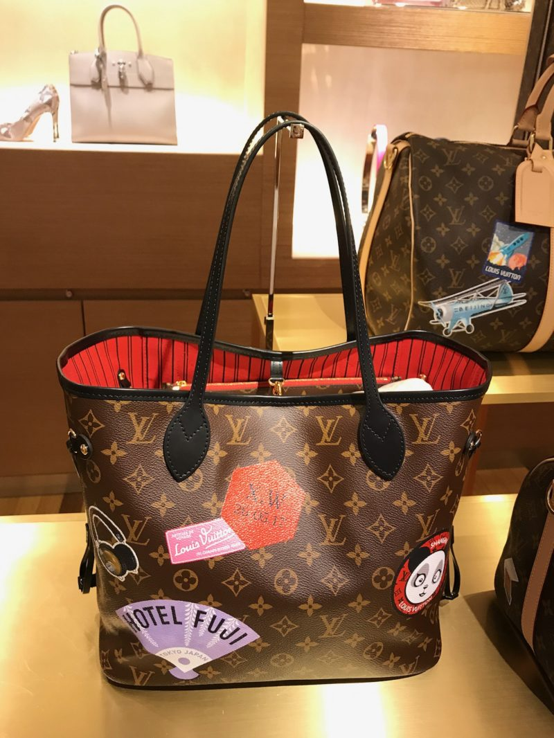 Louis Vuitton world tour neverfull MM