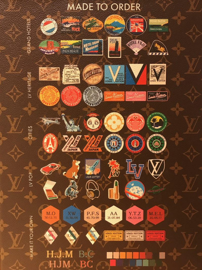 My lv world tour badges Louis Vuitton