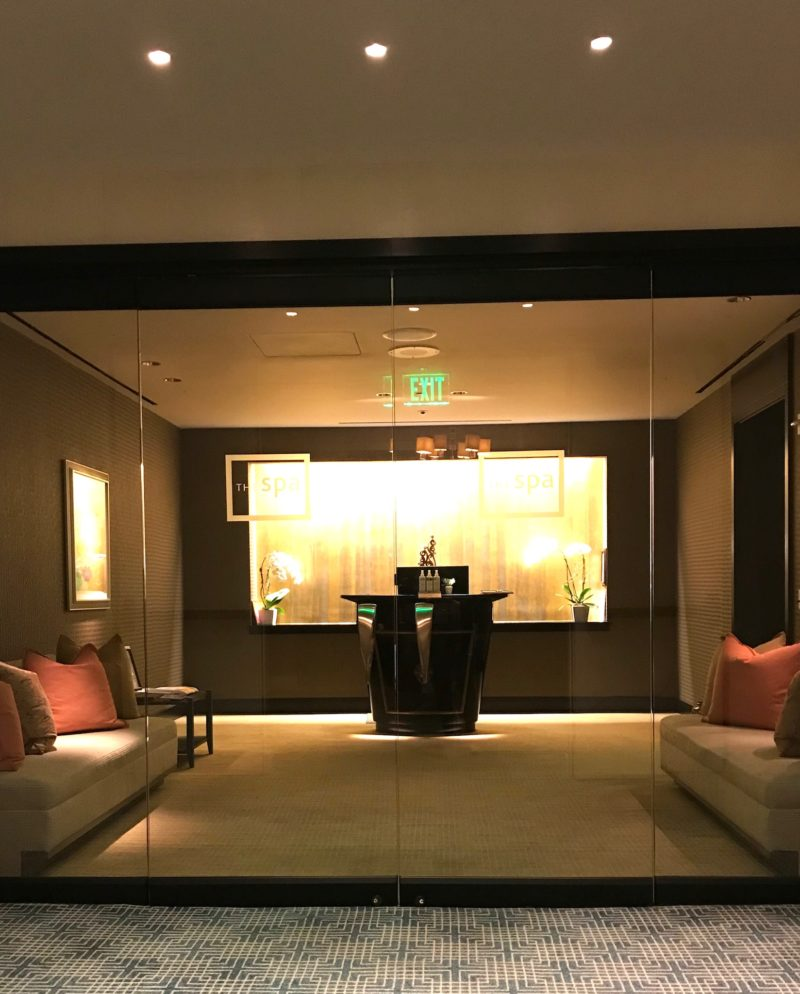 Loews regency hotel san francisco the SPA