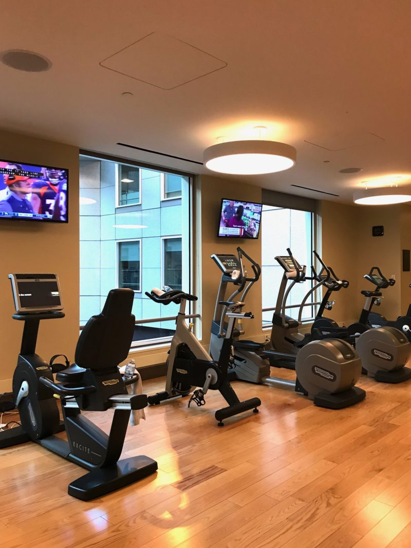 Loews regency hotel san francisco Gym