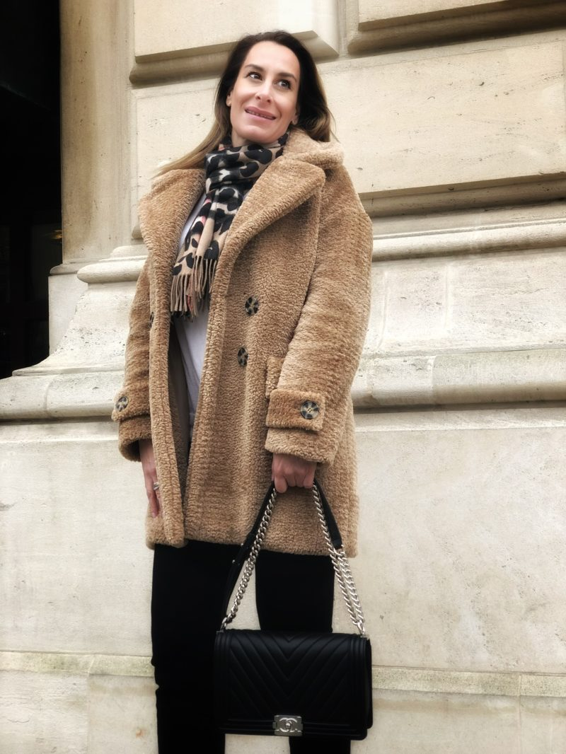 Teddy Coat casual styled